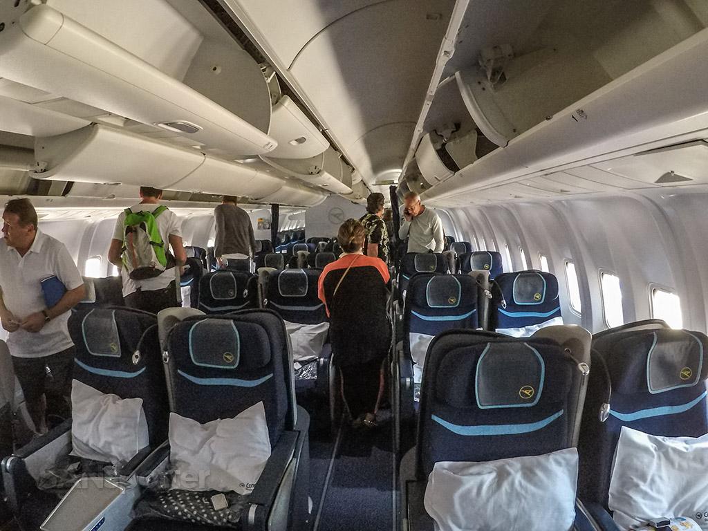 Condor 767-300 business class cabin