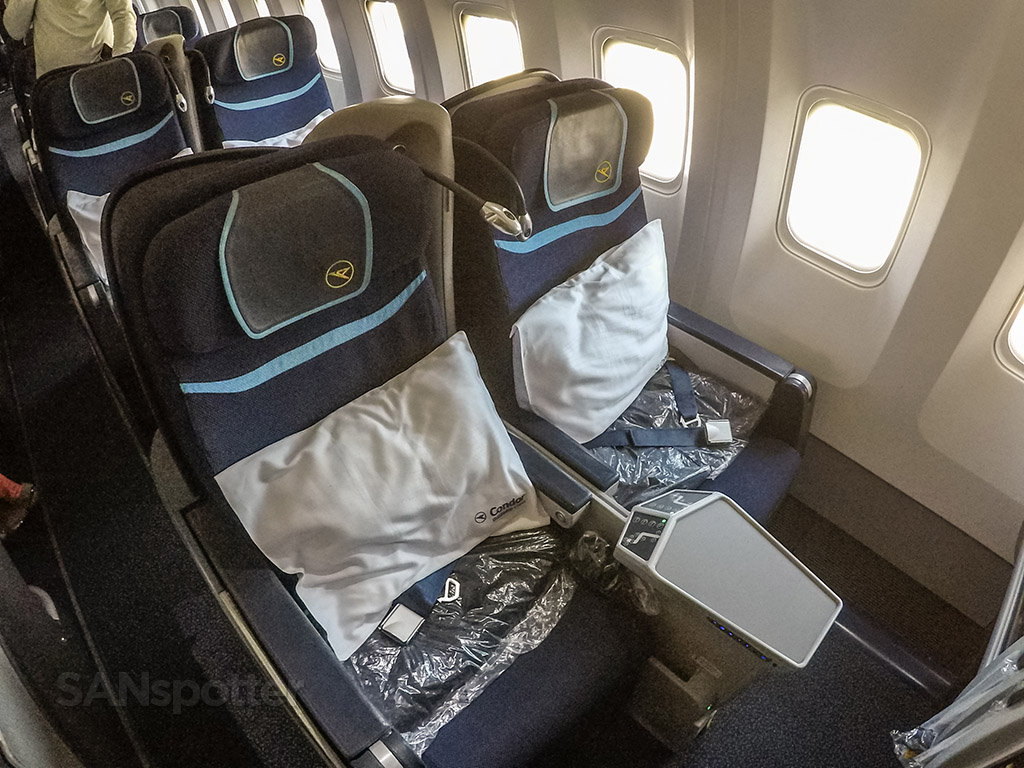 Condor 767 300 Business Class San Diego To Frankfurt
