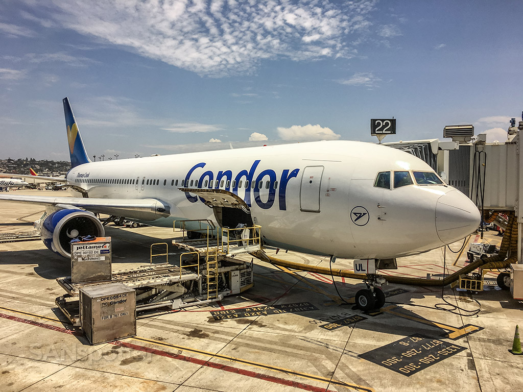Condor Airlines San Diego