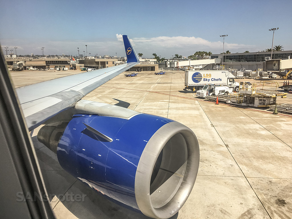 Condor Airlines 767 San Diego airport