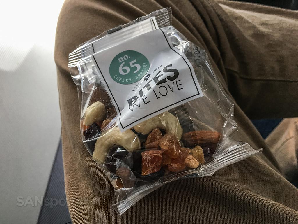 Condor business class snack