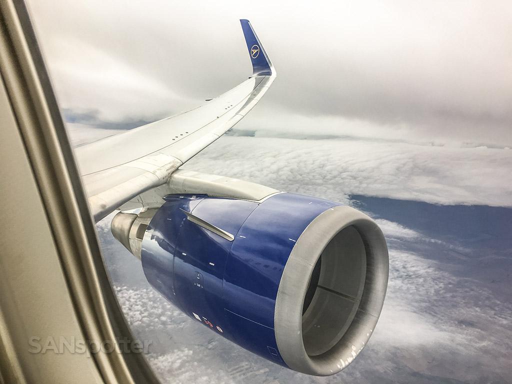 Condor 767-300 wing view