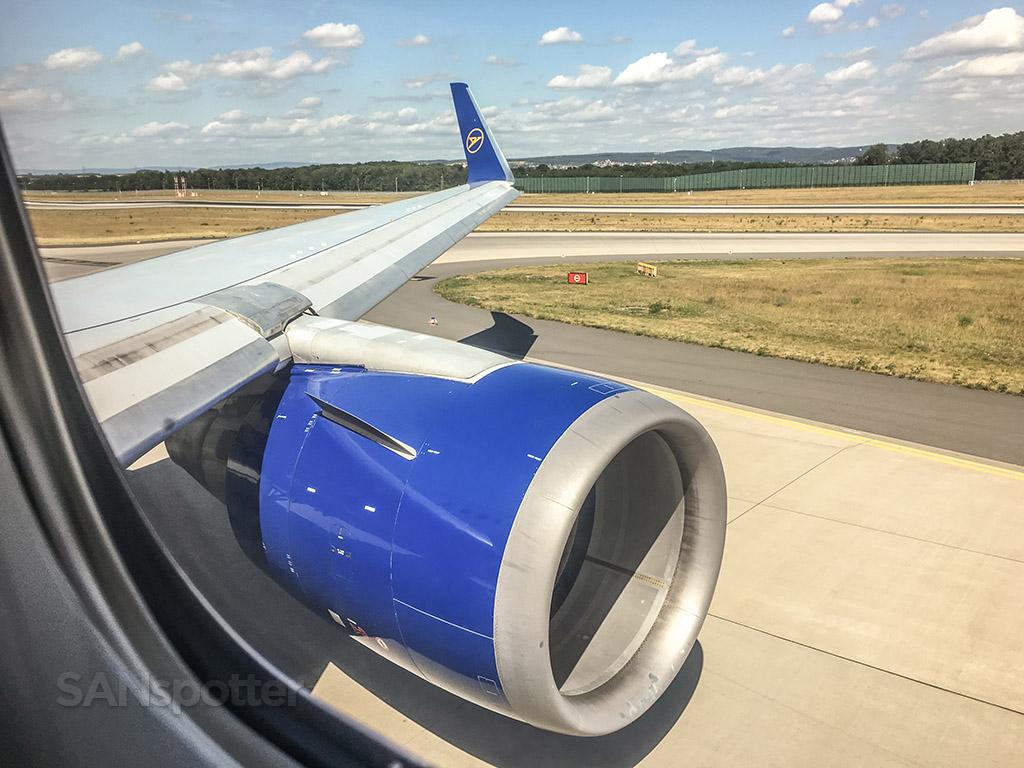 Condor Airlines 767 Frankfurt airport