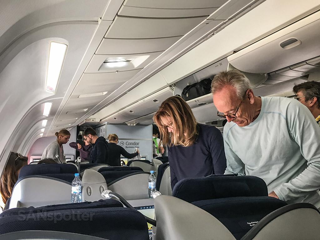 Condor 767 arrival in Frankfurt
