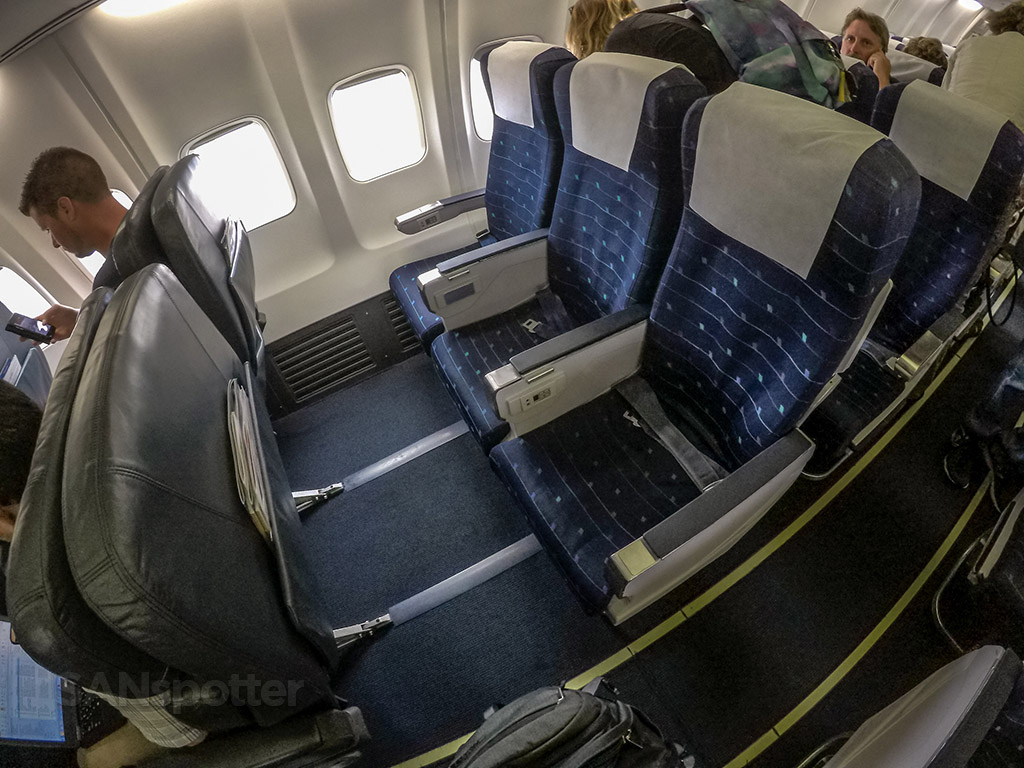 Sun country Airlines first class bulkhead