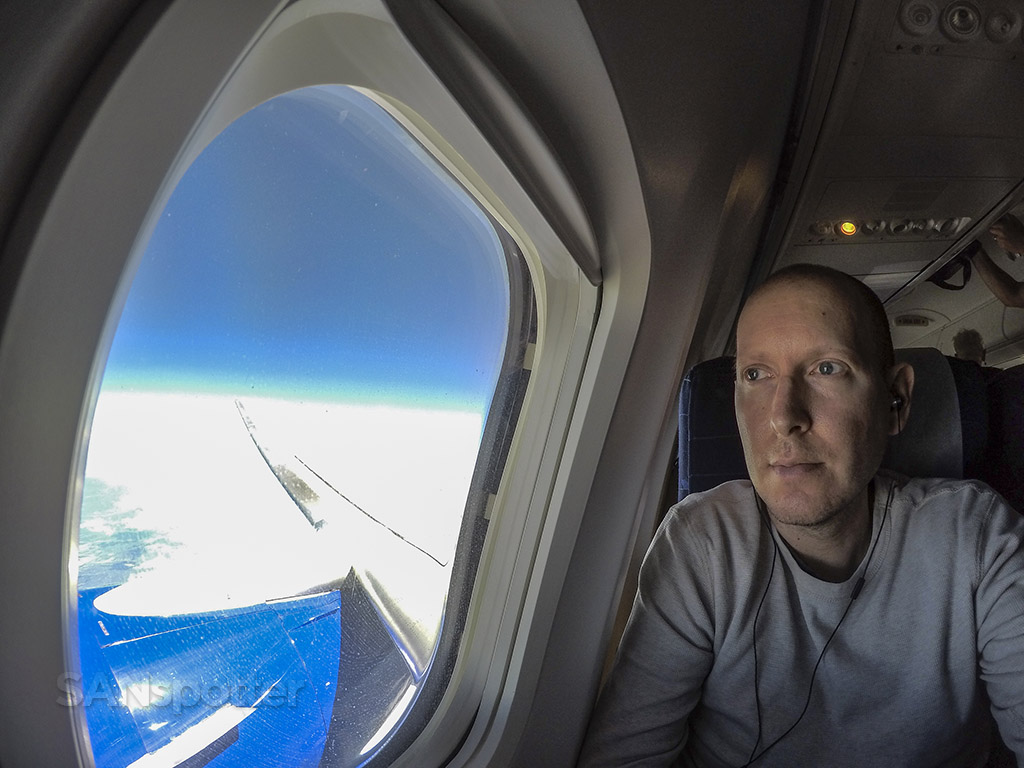 SANspotter airplane selfie sun country Airlines