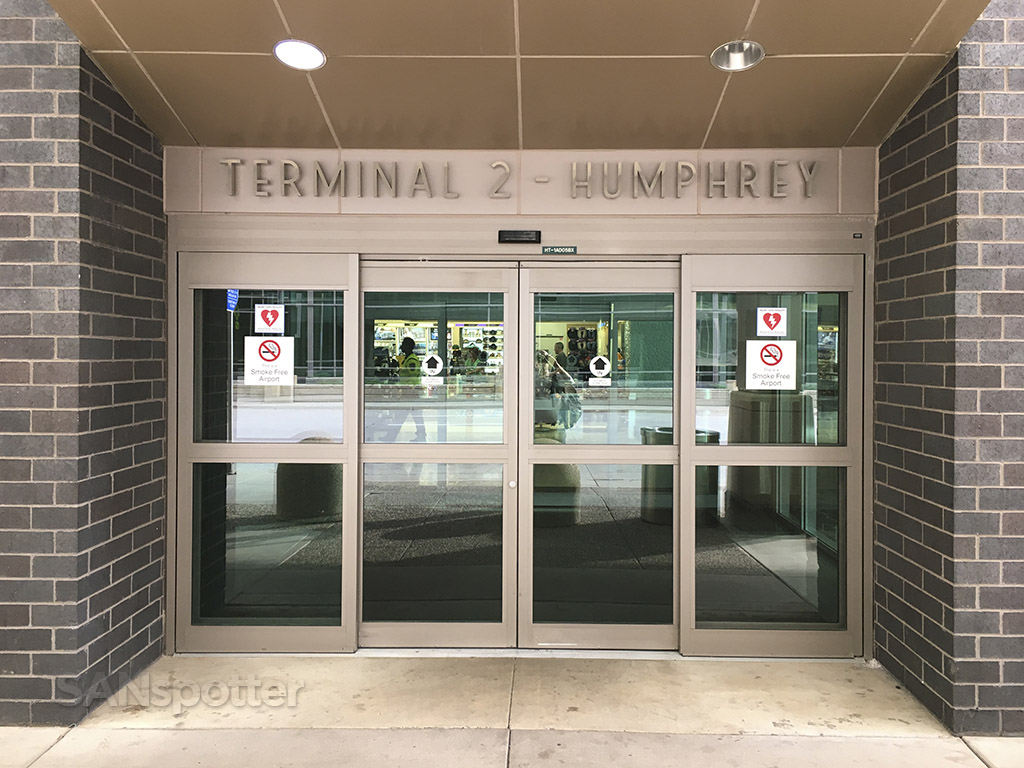 Humphrey terminal entrance MSP