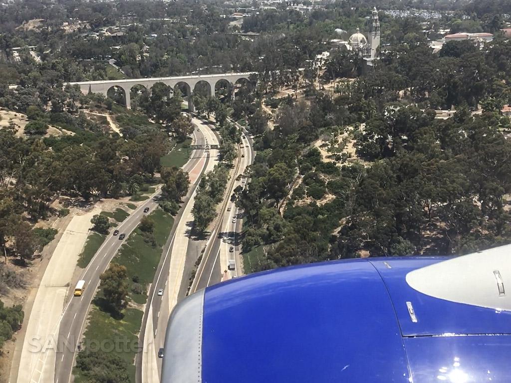 Balboa park San Diego approach