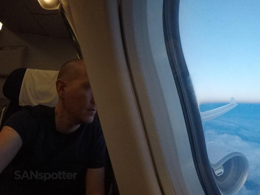 SANspotter selfie TAP Portugal A330