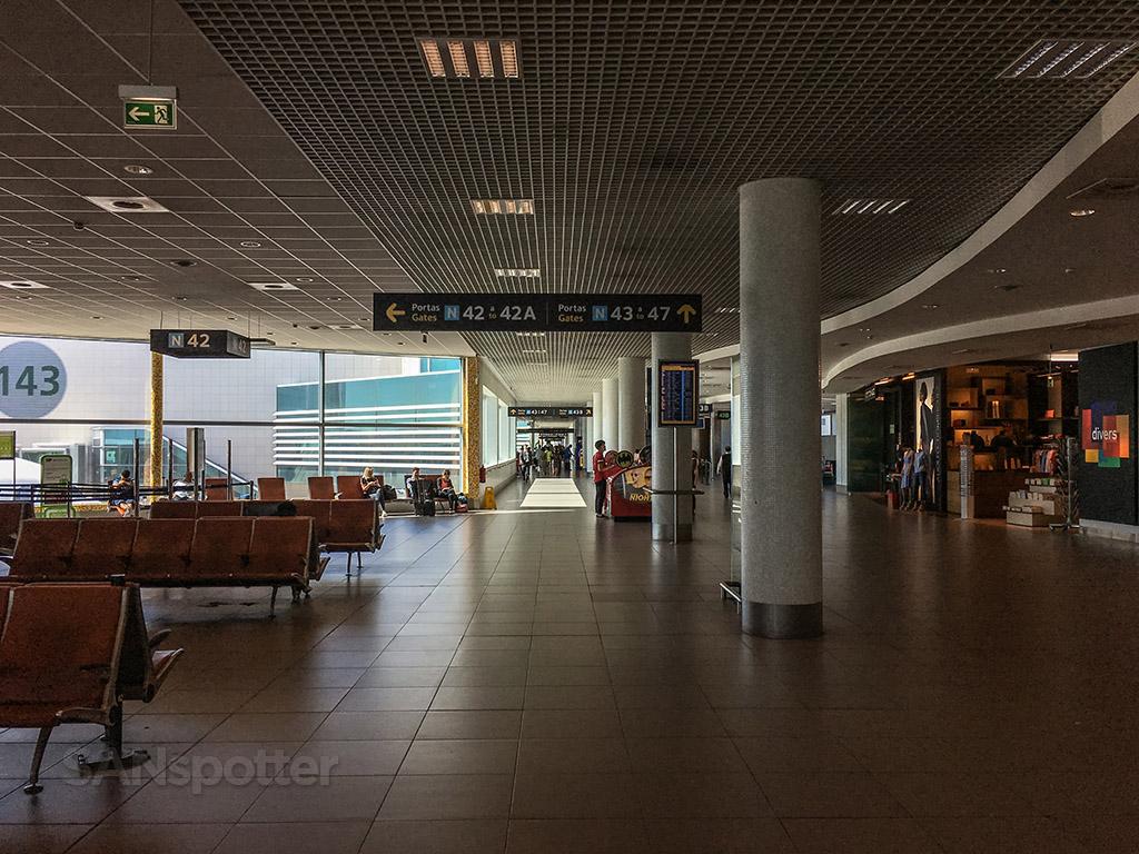 lisbon airport terminal interior