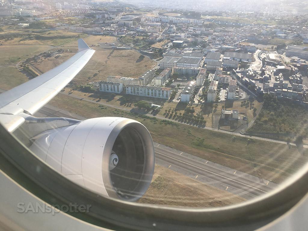 tap portugal a330 takeoff
