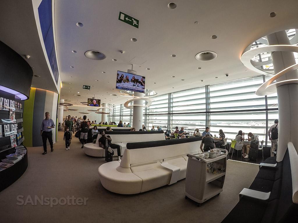 Tap premium lounge full interior