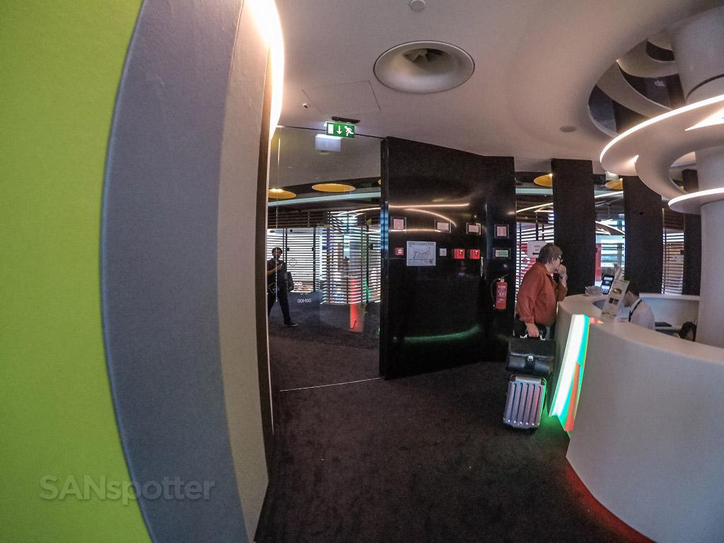 Tap premium lounge exit