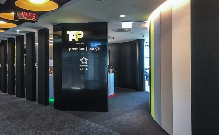 TAP premium lounge main entrance