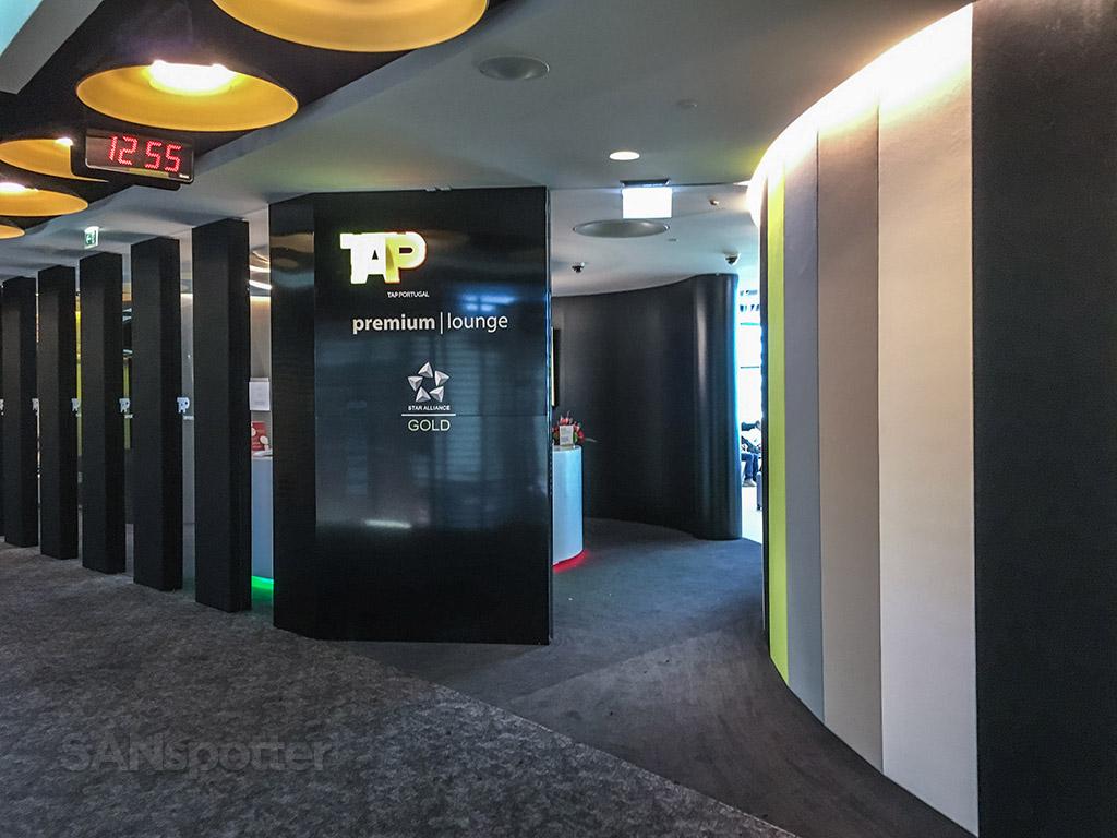 TAP premium lounge main entrance