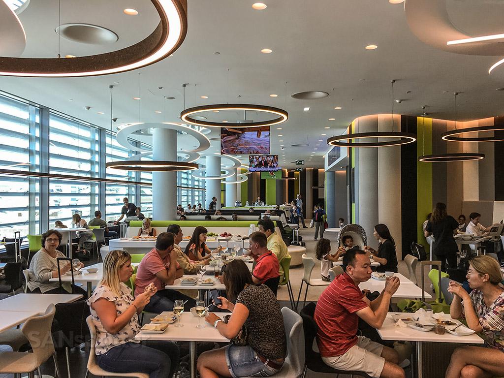 Tap premium lounge dining room