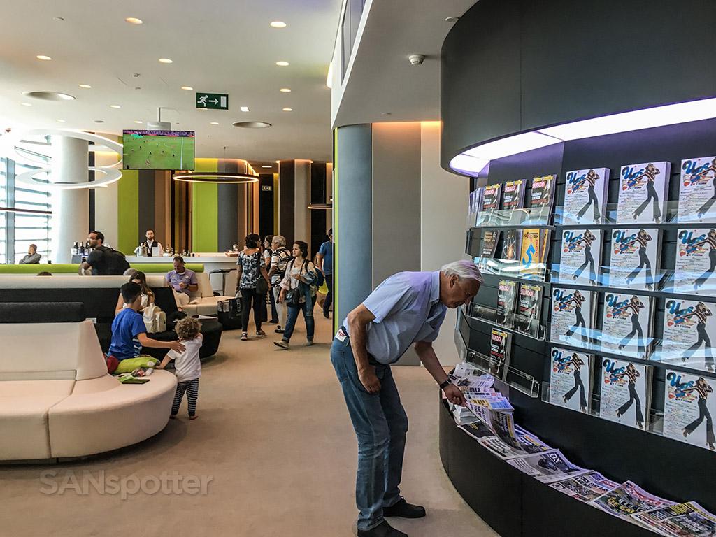 Tap premium lounge Lisbon airport