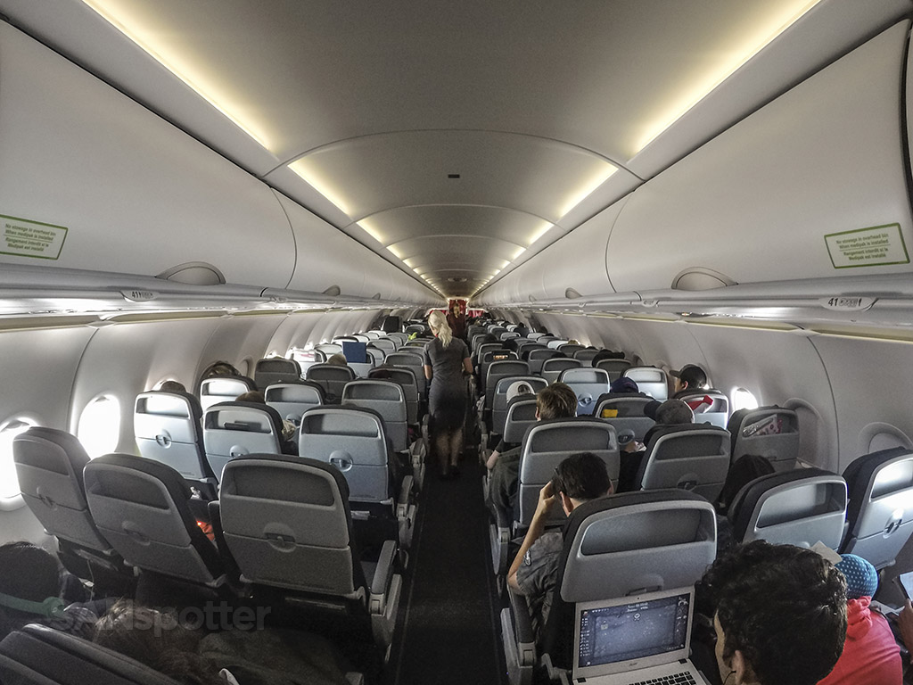Air Canada Rouge a321 full interior