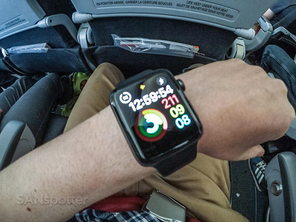 Apple Watch travel