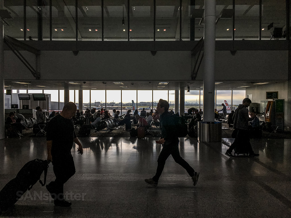 Busy YYZ airport