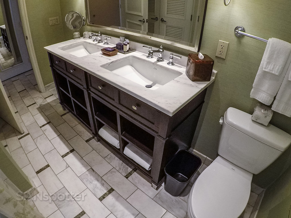 Hotel Del Coronado bathroom design