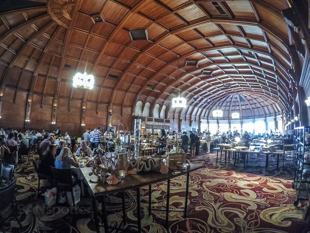 Hotel Del Coronado Sunday brunch