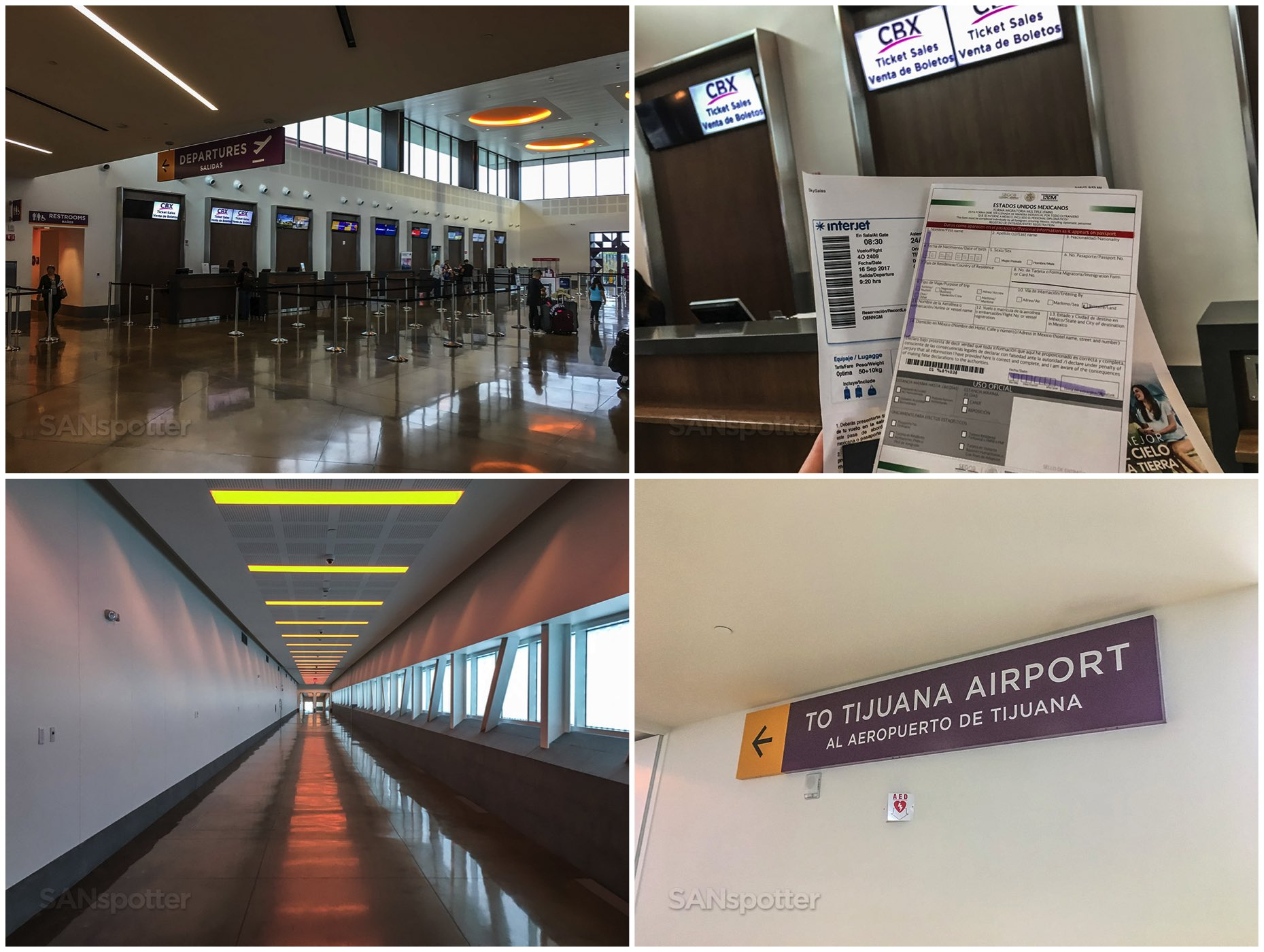 Cross border express San Diego and Tijuana airport