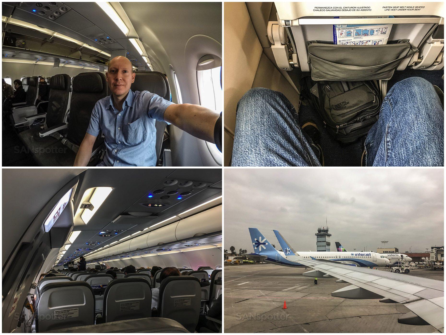SANspotter selfie Interjet A321