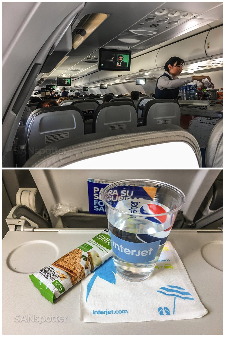 Interjet in flight snack