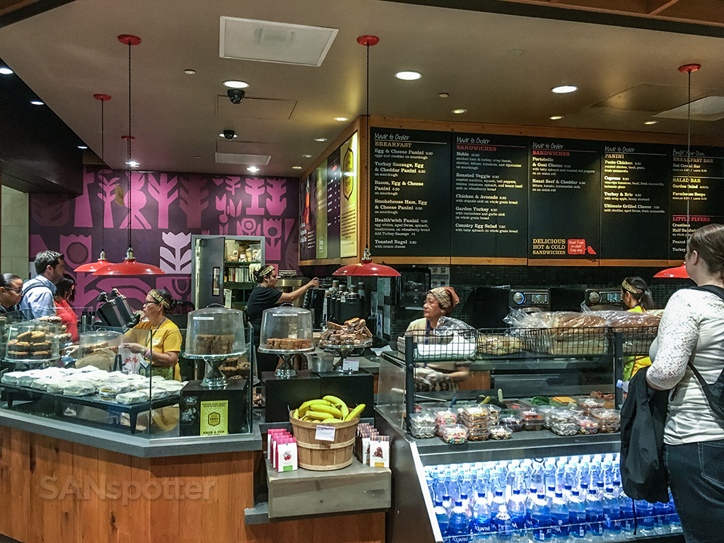 Camden food company San Diego airport