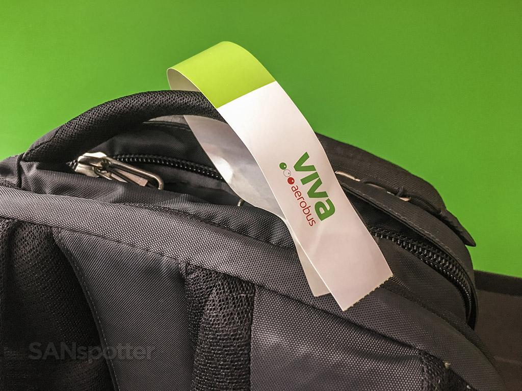 VivaAerobus bag tag
