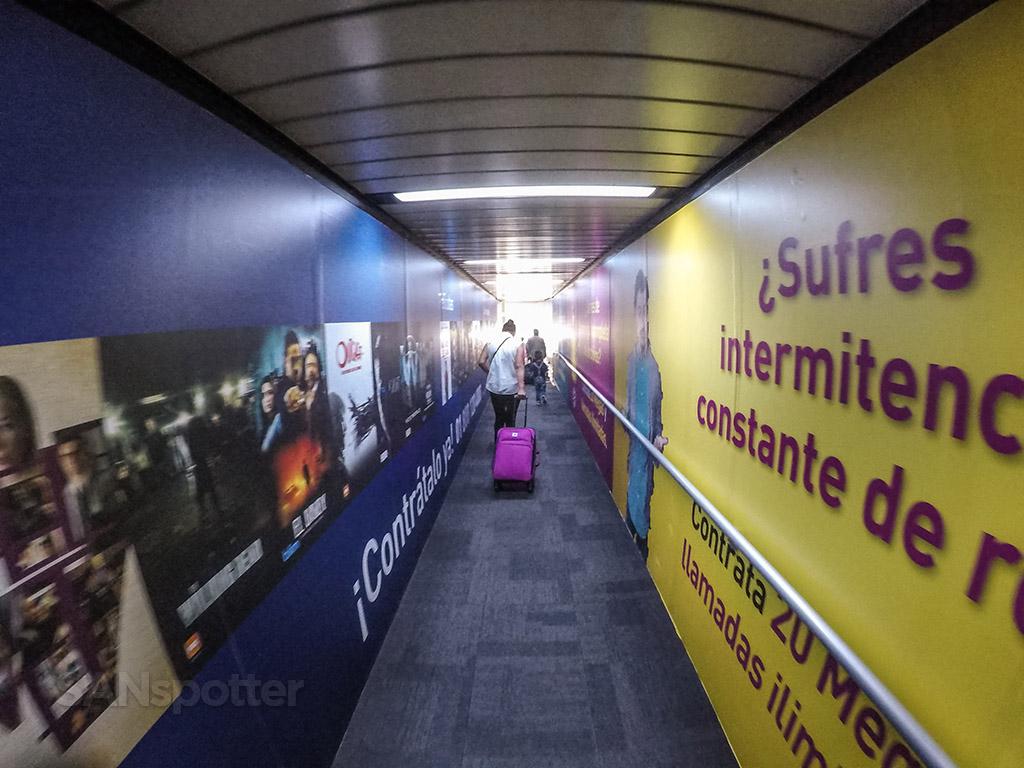 MEX jet bridge