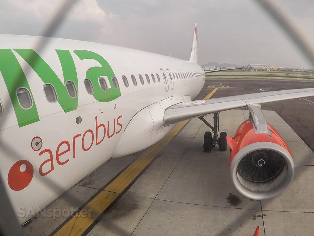 Boarding VivaAerobus a320