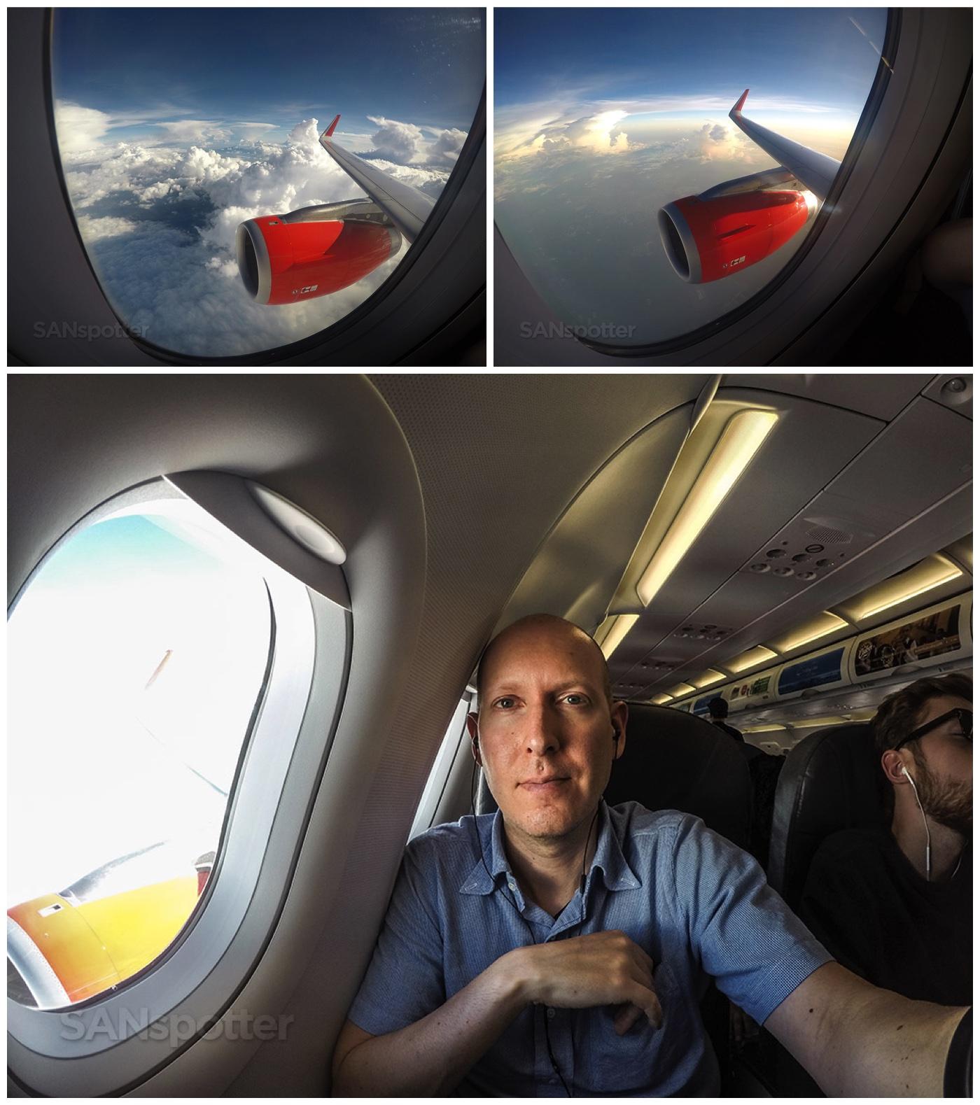 SANspotter selfie VivaAerobus