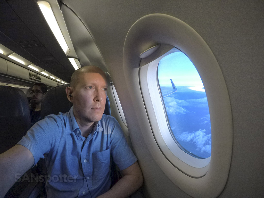 SANspotter selfie Volaris a321
