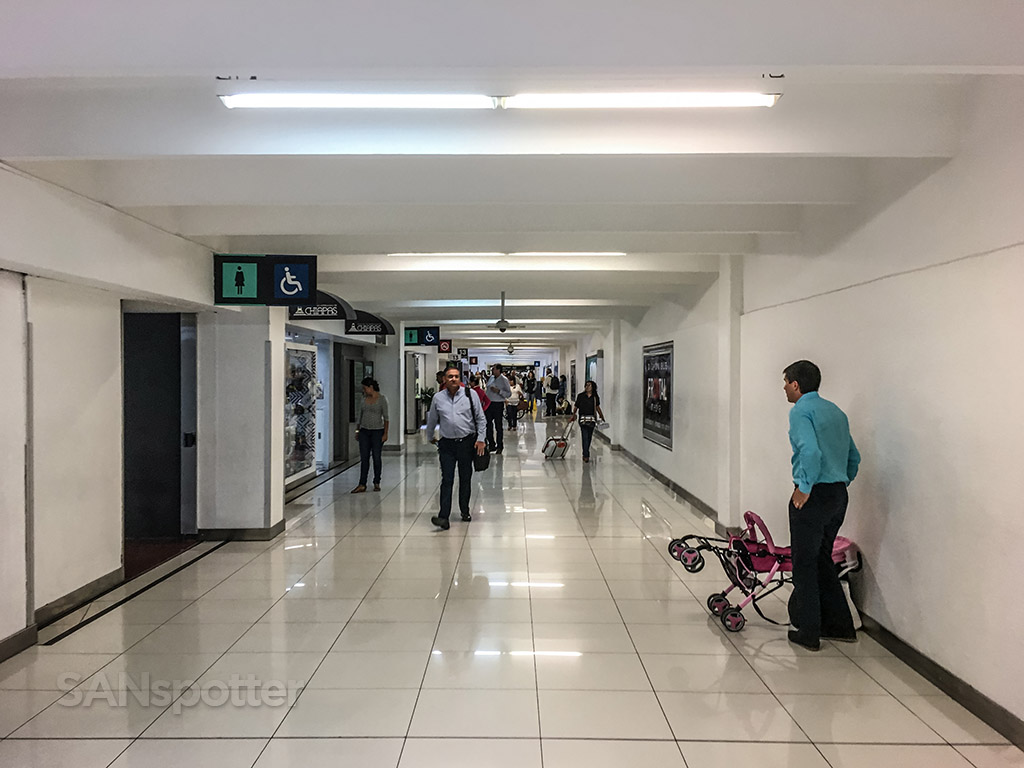Mexico City airport domestic terminal