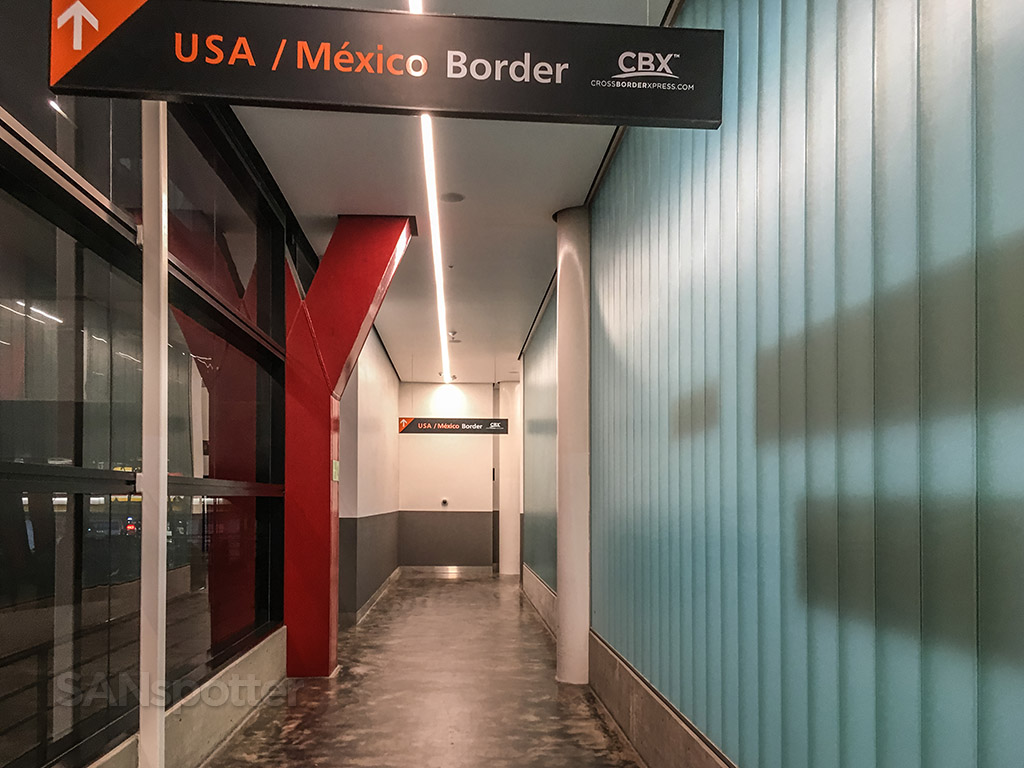 Cross-border express Tijuana airport