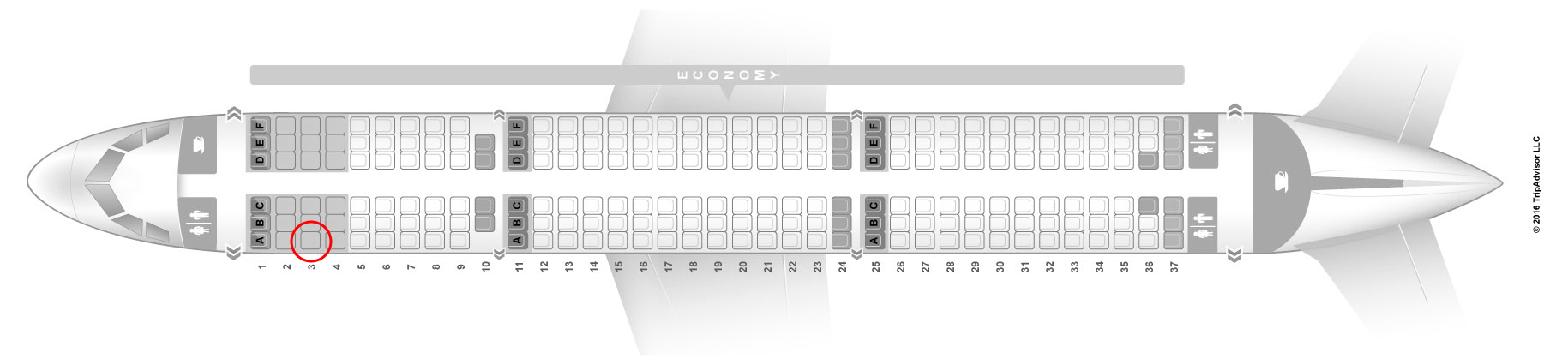 Volaris a321 seat map