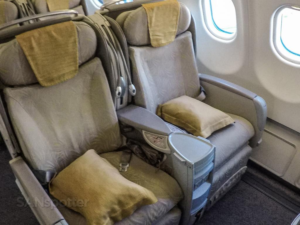 Asiana A330-300 Business class seats
