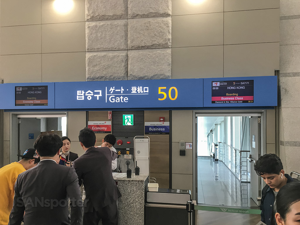 Gate 50 Incheon Airport
