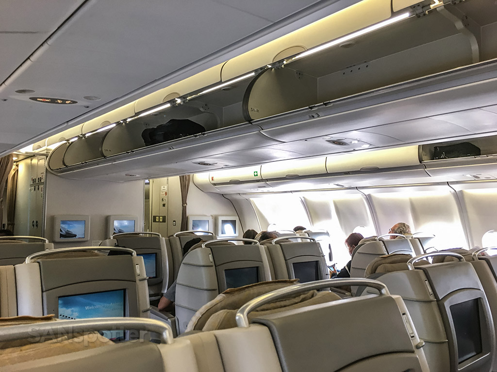Asiana A330 business class interior