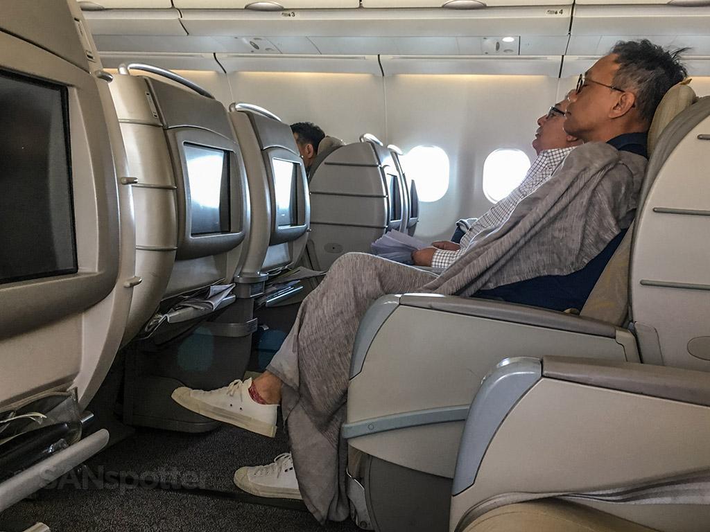 Asiana A330 business class comfort
