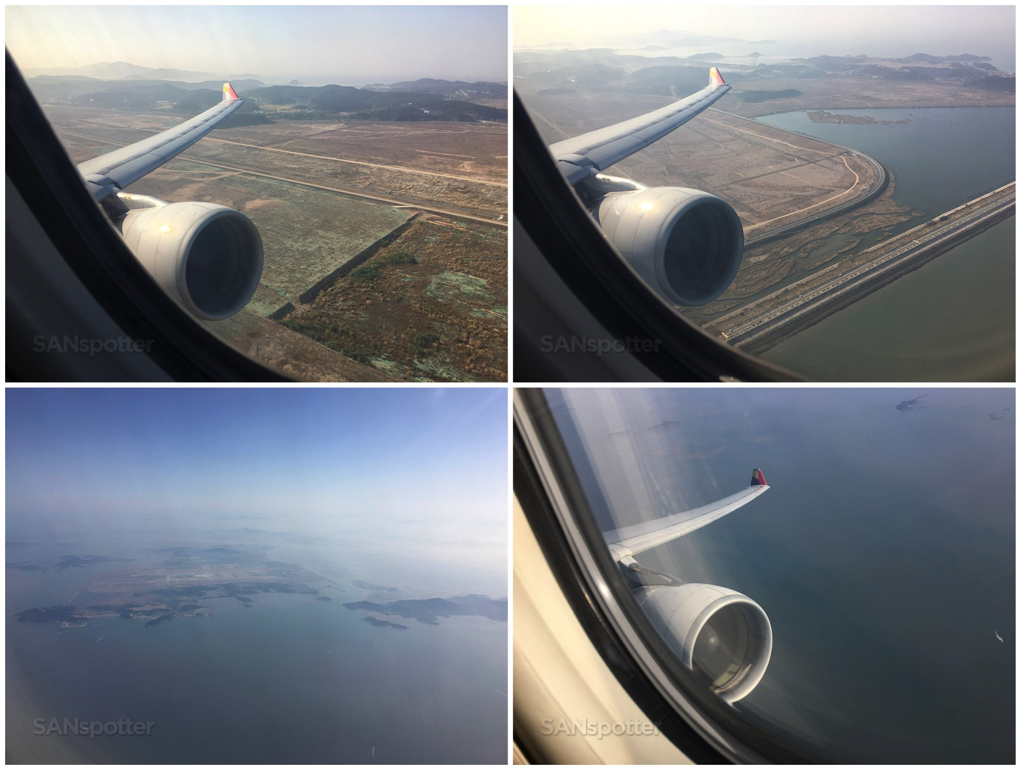 Take off from ICN airport