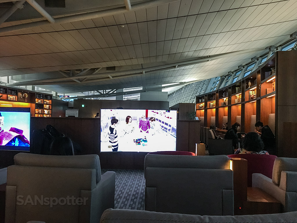 Asiana business class lounge interior ICN