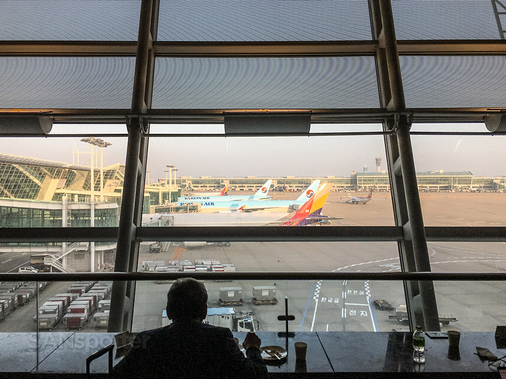 View from Asiana business class lounge ICN