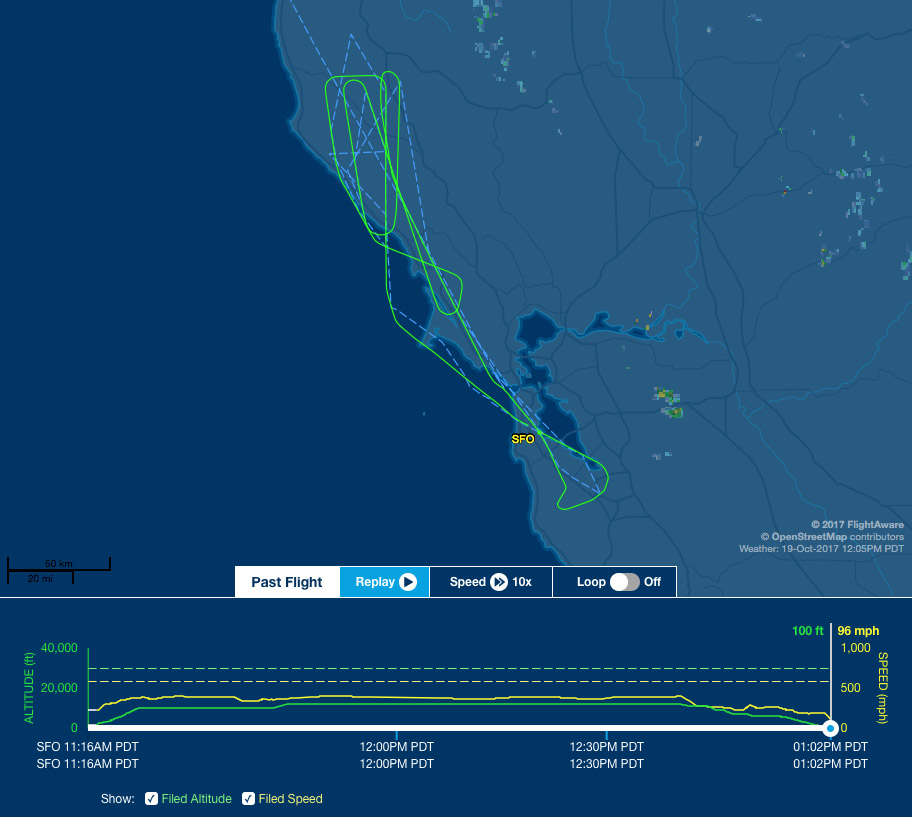 sfo-sfo route map