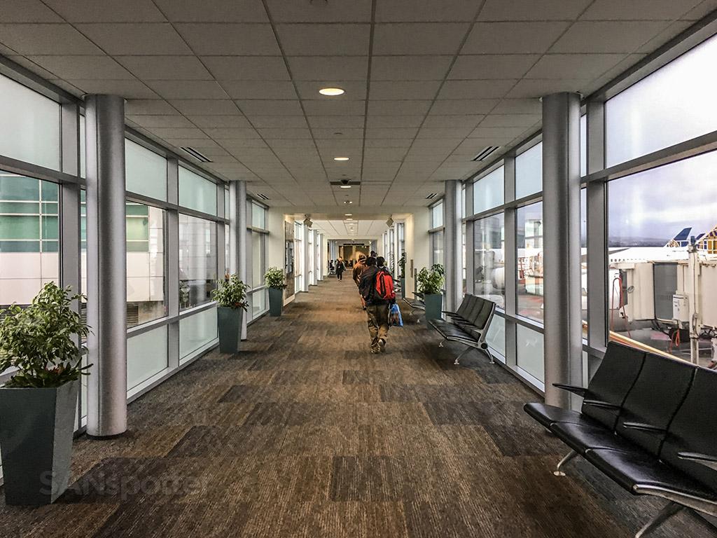 International terminal walkway SFO