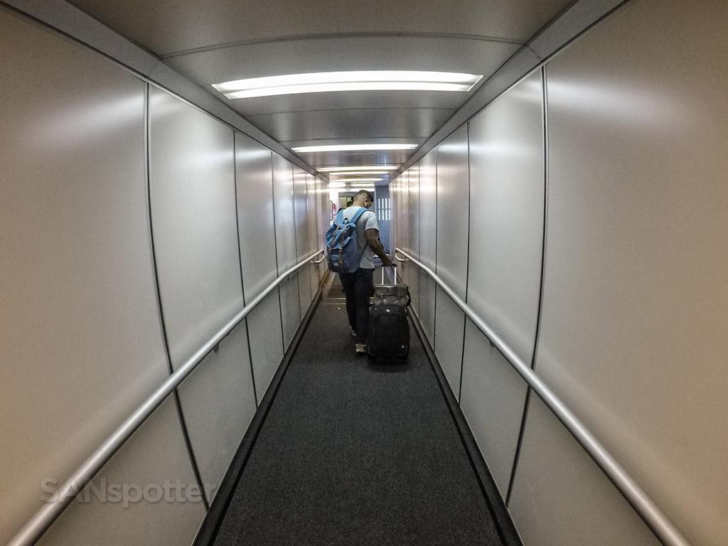 747 jet bridge San Francisco international airport