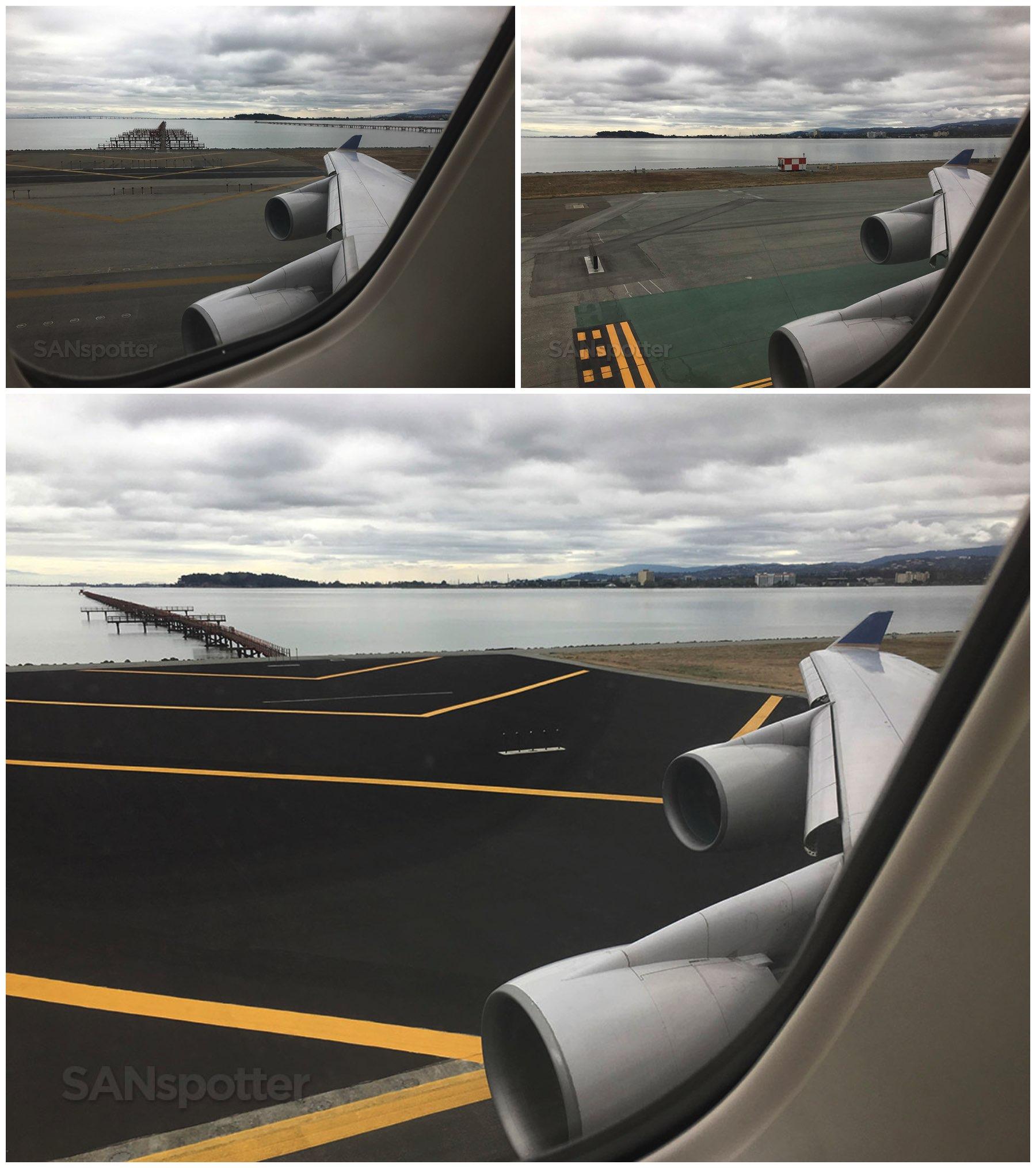 747 taxi at SFO