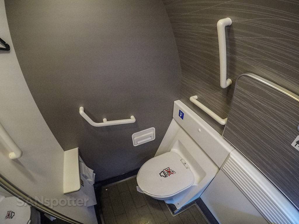 American Airlines 777-300 first class lavatory
